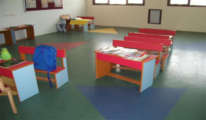 Schools /Nurseries vinyl flooring